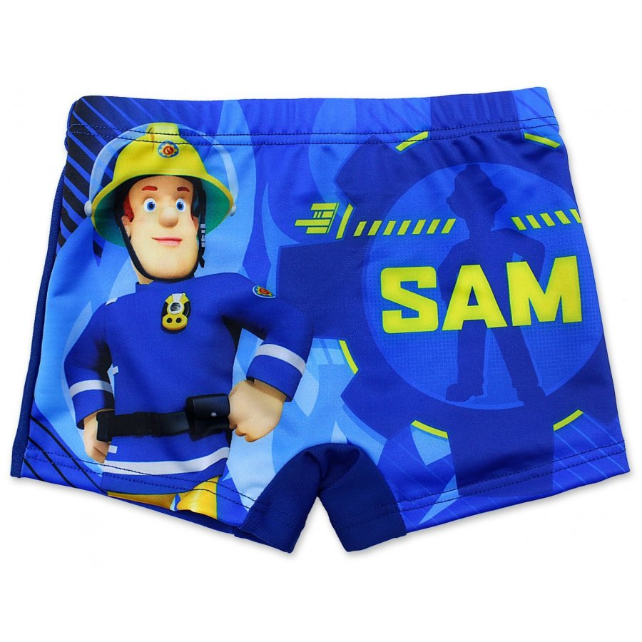 Chlapecké plavky boxerky Požárník Sam - tm. modré
