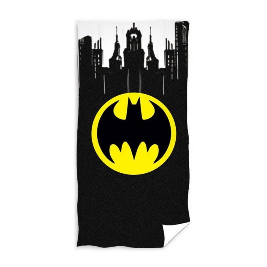 Bavlněná plážová osuška Batman - Gotham City