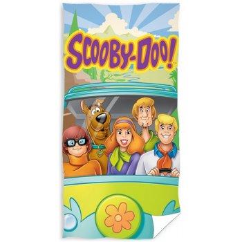 Bavlněná plážová osuška Scooby Doo na cestách