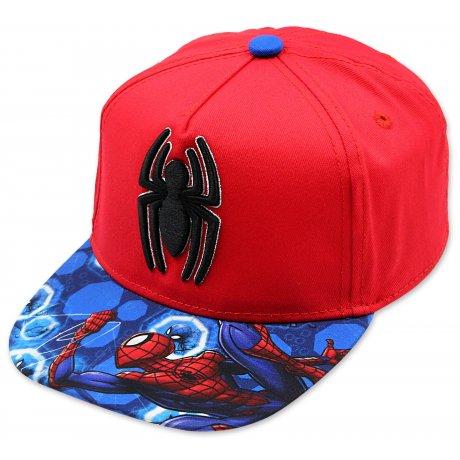 Hip Hop kšiltovka Spiderman - červená