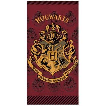 Bavlněná plážová osuška Harry Potter - Hogwarts