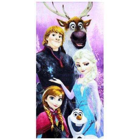 Plážová osuška Ledové království - Frozen