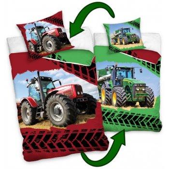 Bavlněné ložní povlečení traktory