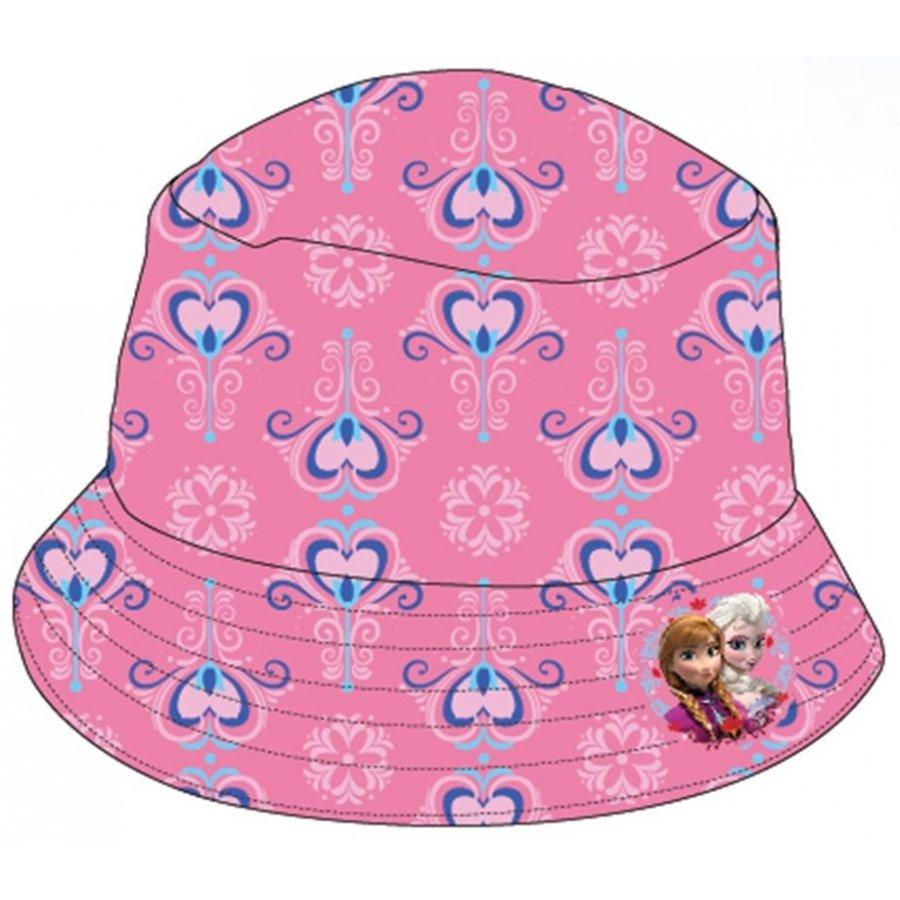 Dívčí klobouk Ledové království - růžový
