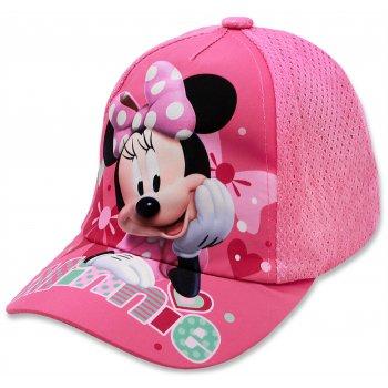 Dívčí kšiltovka Minnie Mouse - Disney - sv. růžová