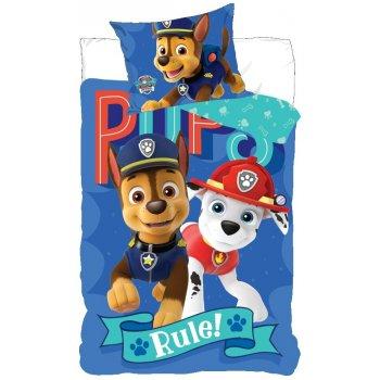 Bavlněné povlečení Tlapková patrola - Pups Rule!