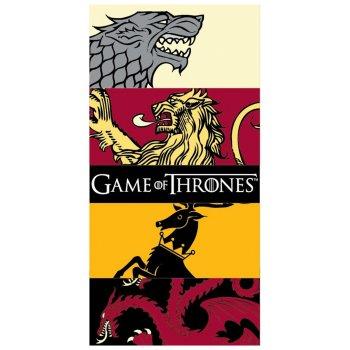 Bavlněná plážová osuška Game of Thrones - Hra o trůny