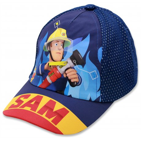 Chlapecká kšiltovka Požárník Sam - modrá