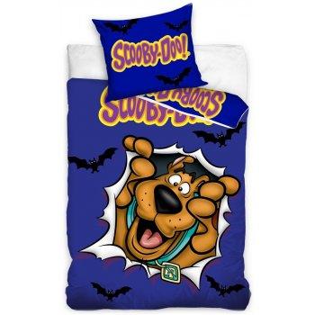 """Bavlněné ložní povlečení Scooby-Doo - motiv """"kuk"""""""