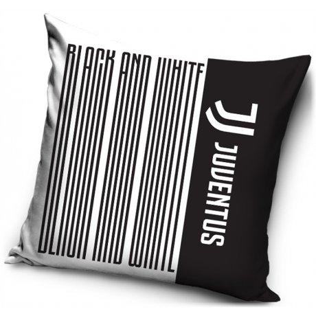 Povlak na polštář Juventus FC - Black Stripes