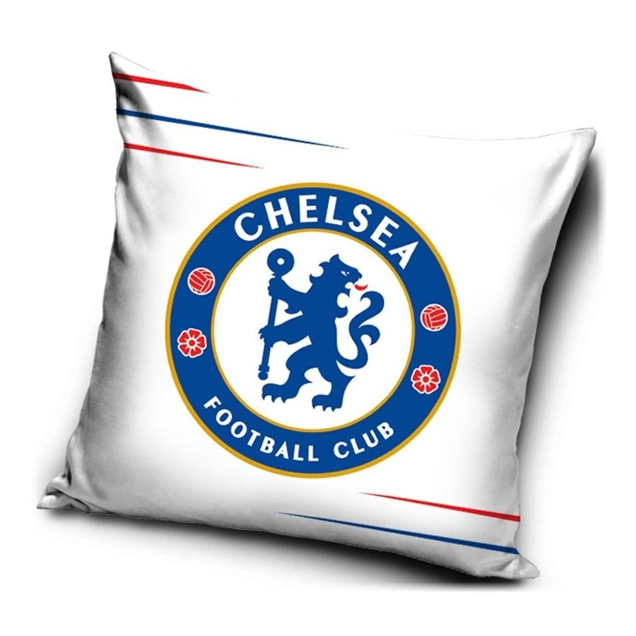 Povlak na polštář Chelsea FC - Blue & Red lines