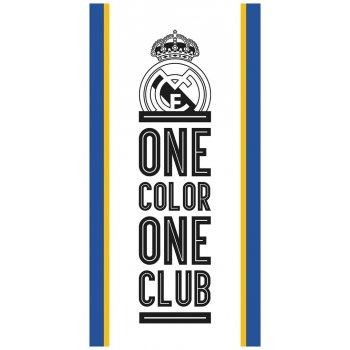 Fotbalová osuška FC Real Madrid - One color one club