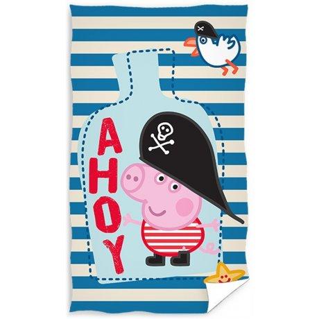 Dětský ručník Prasátko Peppa - George Pirát