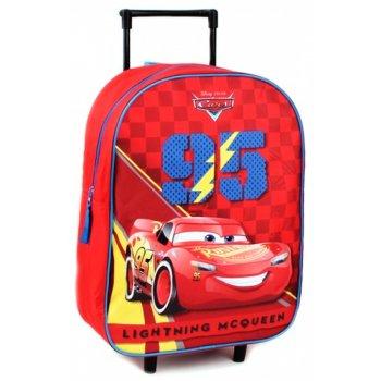 Dětský cestovní kufr na kolečkách Auta - Blesk McQueen