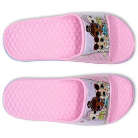 Dívčí gumové pantofle L.O.L. Surprise - světle růžové