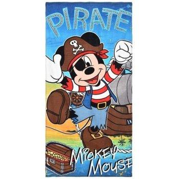 Plážová osuška Mickey Mouse - pirát