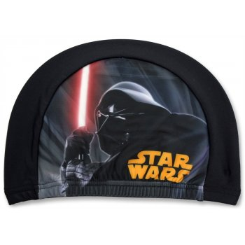 Dětská koupací čepice Star Wars - černá