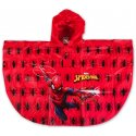 Dětská pláštěnka / pončo Spiderman - červená
