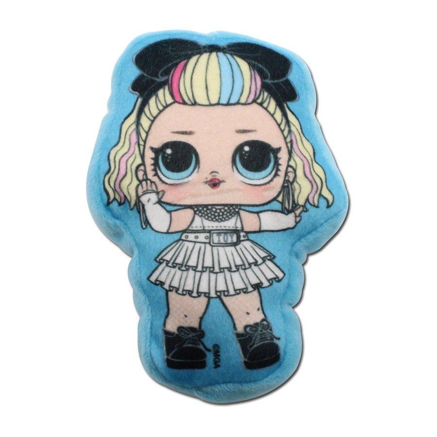 Plyšový polštářek panenka L.O.L. Surprise - 80's B.B.