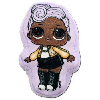 Plyšový polštářek panenka L.O.L. Surprise - D.J.