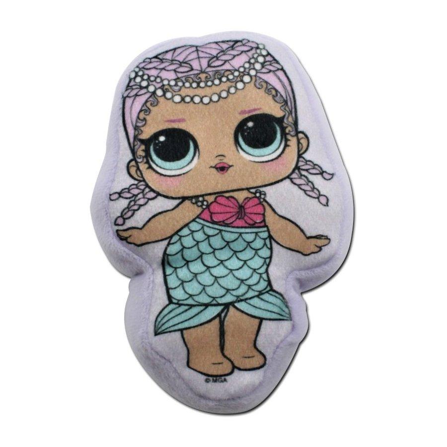 Plyšový polštářek panenka L.O.L. Surprise - Splash Queen