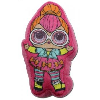 Plyšový polštářek panenka L.O.L. Surprise - Neon Q.T.
