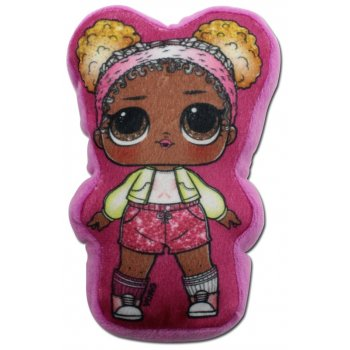 Plyšový polštářek panenka L.O.L. Surprise