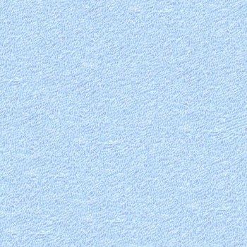 Froté prostěradlo - 90 x 200 cm - světle modré