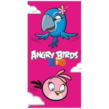 Bavlněná plážová osuška Angry Birds - Perla a Stella