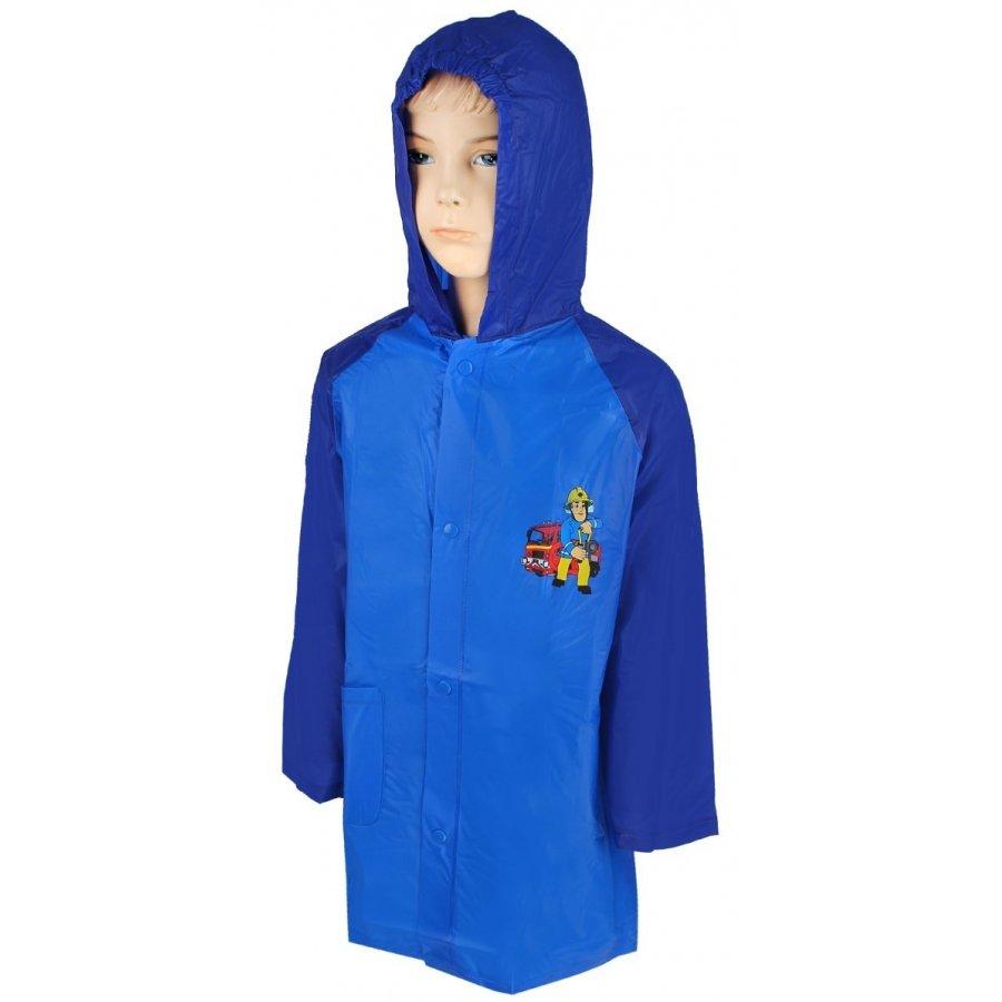 Chlapecká pláštěnka Požárník Sam - modrá
