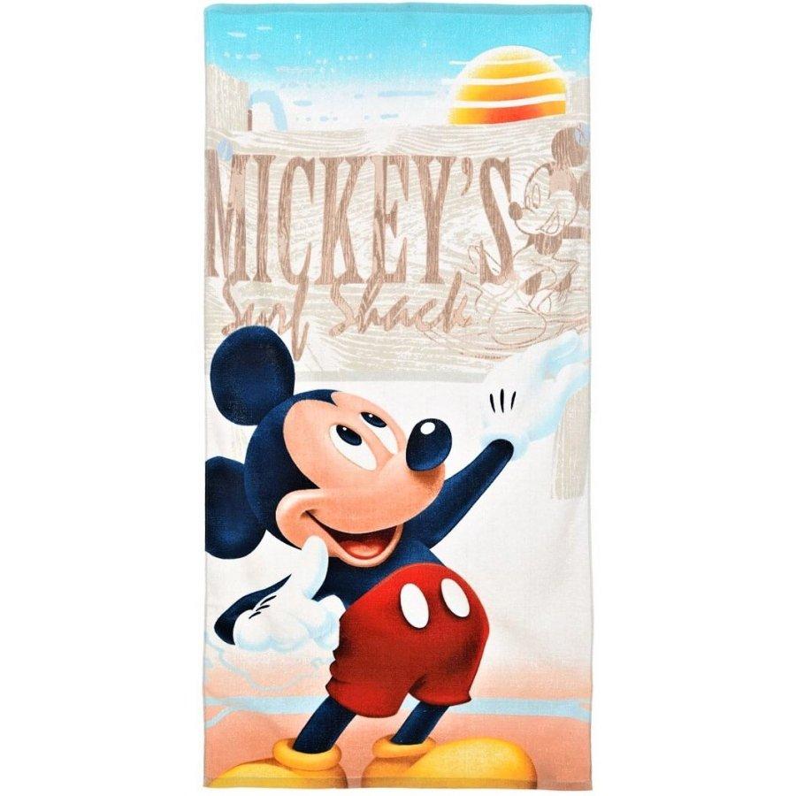SunCity · Plážová osuška Mickey Mouse - Disney - Surf Shack - 70 x 140 cm