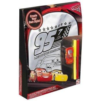Dětský batoh Auta - Blesk McQueen 95 - k vymalování