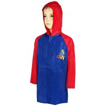 Chlapecká pláštěnka Požárník Sam - červeno / modrá