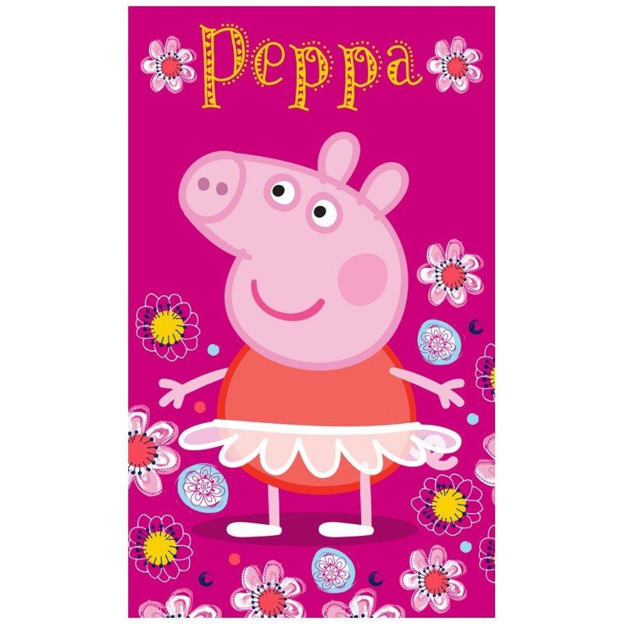 Dětský ručník Prasátko Peppa - baletka