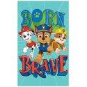 Dětský ručník Tlapková patrola - Born brave