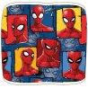 Chlapecký flísový nákrčník / tunel na krk Spiderman. Z vnější strany je povrch příjemně plyšový s koláží obrázků komiksového a filmového superhrdiny Spidermana, z vnitřní strany je hřejivý a chlupatý materiál polar fleece. Velikost je univerzální - pro děti.