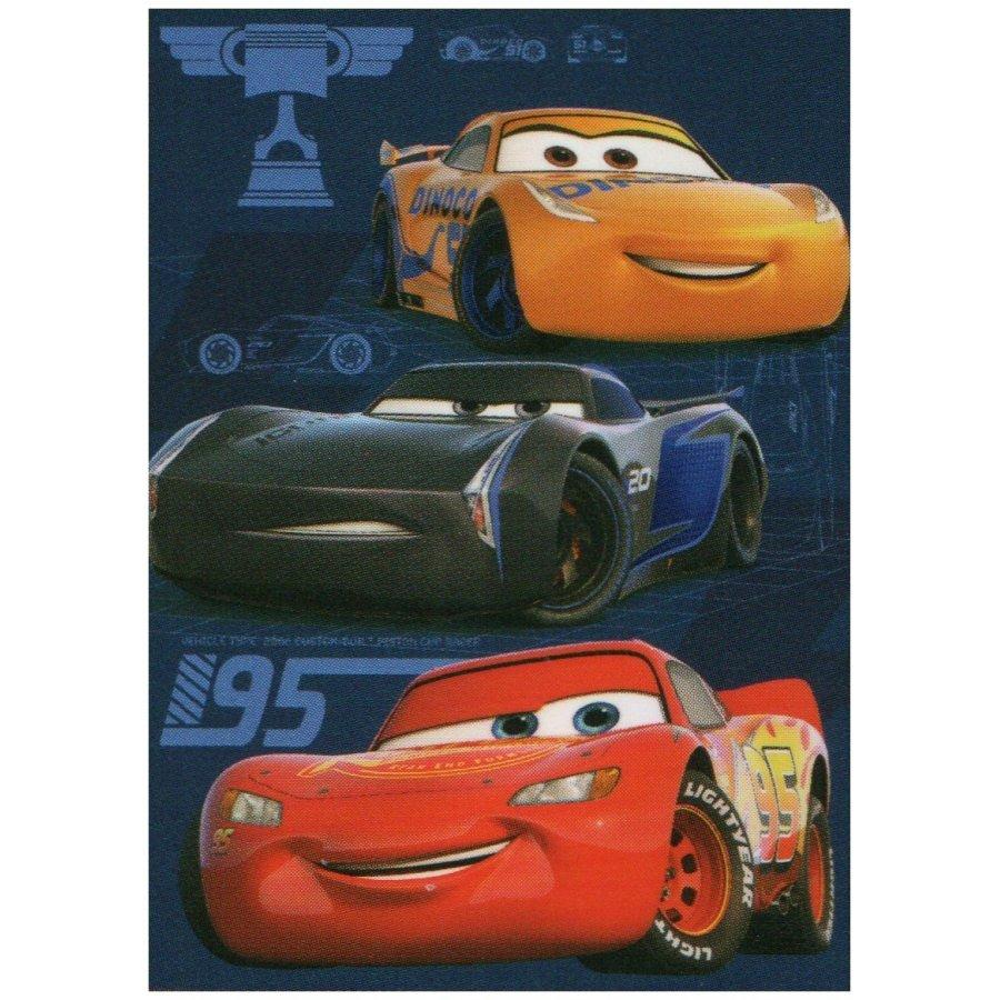 Fleecová deka Auta 3 - Blesk McQueen a závodníci