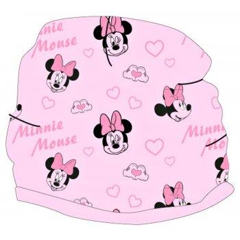 Dívčí jarní / podzimní terry čepice Minnie Mouse - Disney