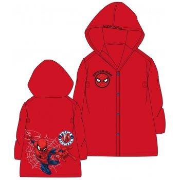 Dětská pláštěnka Spiderman - červená