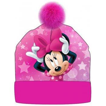 Dívčí zimní čepice s bambulí Minnie Mouse - Disney