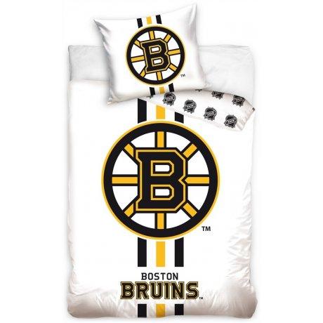 Hokejové ložní povlečení NHL Boston Bruins - bílé