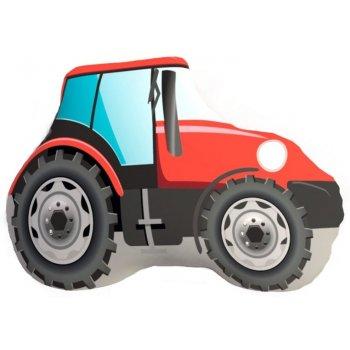 Tvarovaný 3D polštář traktor