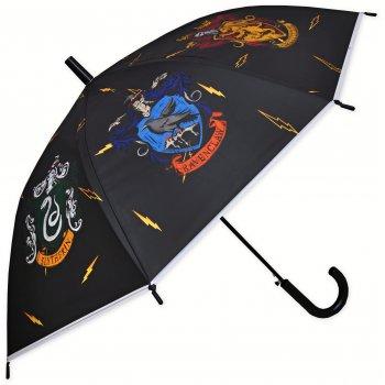Deštník Harry Potter - erby kolejí