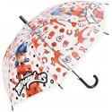 Dětský vystřelovací deštník Kouzelná beruška - Miraculous Ladybug