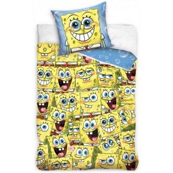 Bavlněné ložní povlečení SpongeBob - Sponge Bob všude kam se podíváš