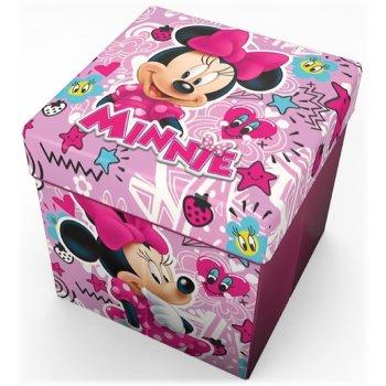 Taburet s úložným prostorem Minnie Mouse - Disney