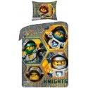Bavlněné povlečení Lego Knights