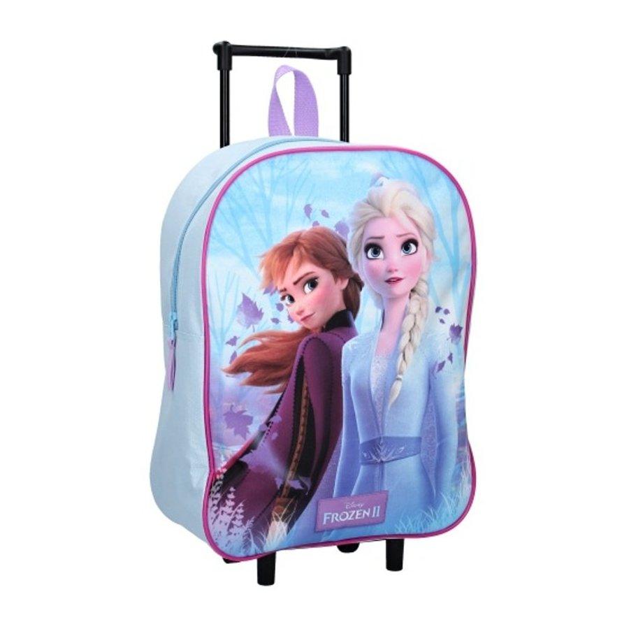 Dětský cestovní kufr na kolečkách Ledové království