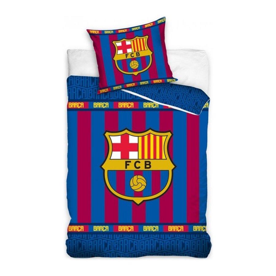 Bavlněné ložní povlečení FC Barcelona - Superior