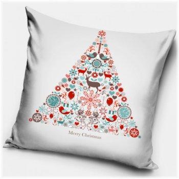 Povlak na polštář Vánoční strom